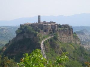 L'incantevole Civita di Bagnoregio