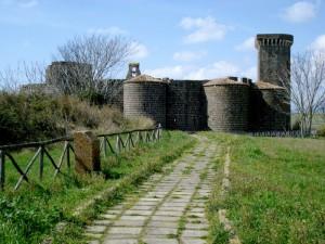 la strada per il castello