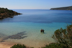 Cala Sabina sull'isola dell'Asinara