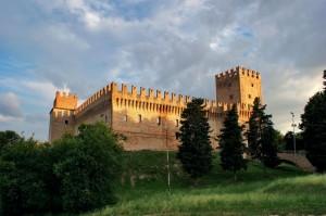 """Al Tramonto """" Castello della Rancia """" Tolentino"""