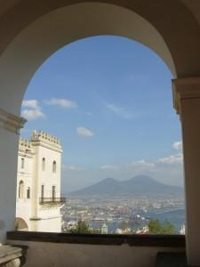 Scorcio della città dalla Certosa di San Martino