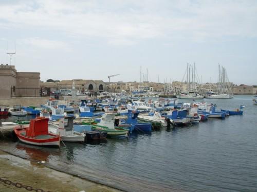 Favignana - Il porto e la tonnara