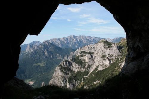 Valli del Pasubio - Il Gruppo del Brenta dal Monte Pasubio