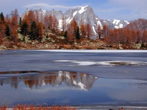 Morgex - Lago d'Arpy e Gruppo del Monte Bianco