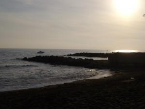 Porzione del mare di Ladispoli