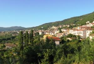 Veduta su Fagnano Castello