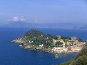 la penisola vista da Punta Manara
