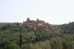 Vista di Petroio (Siena)