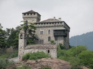 le chateau et l'eglise