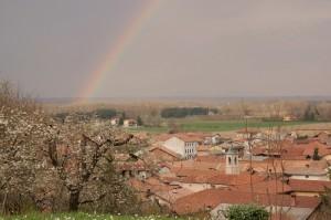 arcobaleno di primavera