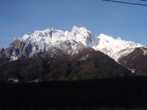 monti dell' alta valle camonica