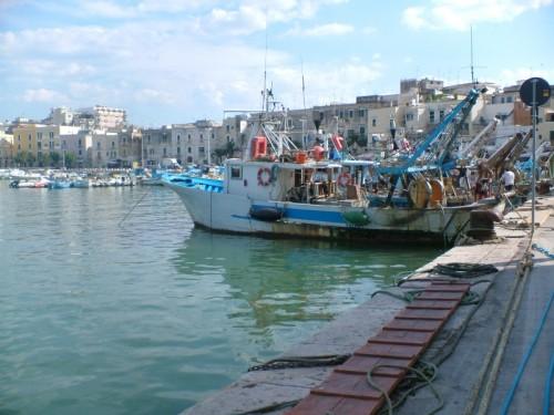 Trani - Pescherecci nel porto