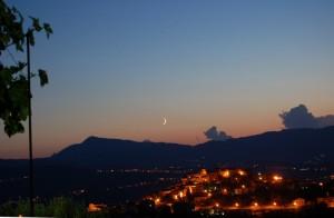 tramonto su Magli