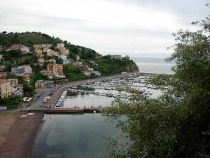 Vista sul porto di Agropoli