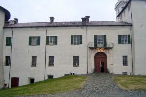 l'ingresso del castello di Masino