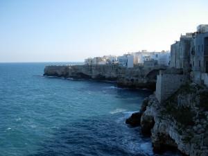 Vista dalla terrazza a mare