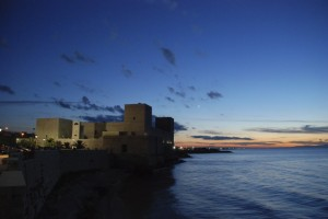 Il castello sul mare