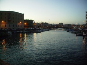 Siracusa - Panorama dal Ponte Umberto sul Porto Piccolo