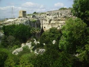 Siracusa, Panorama sul Parco Archeologico della Neapolis