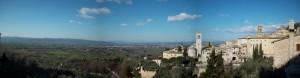 Panorama di Assisi.