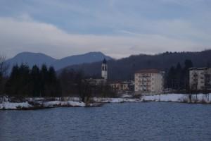 lago di Brinzio d' inverno