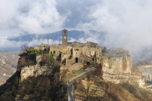 Bagnoregio - Civita di Bagnoregio in un pomeriggio invernale