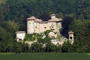 Panoramica di Castel Campo