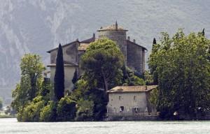 Panoramica di Castel Toblino