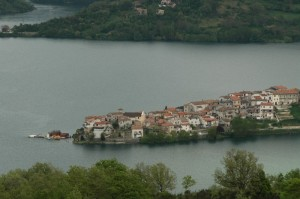 Distesa sul lago