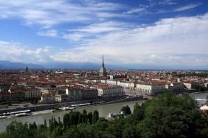 Panoramica su Torino