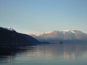 La punta di Bellagio vista dal lago