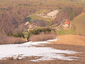 vista dal monte Crocione