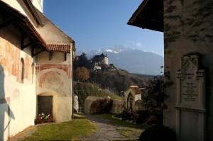 Panorama a Castel Tirolo