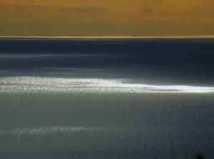 Giochi di luce sul mare