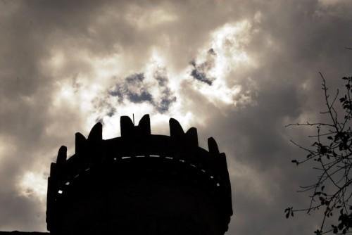 Aymavilles - Il Castello di Aymavilles, merlatura