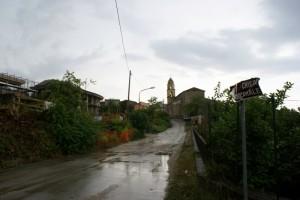A Messa con la pioggia