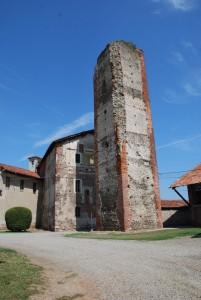 è rimasta solo la torre del castello