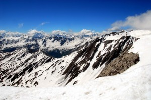 Dal Mont Fourchon verso il Bianco