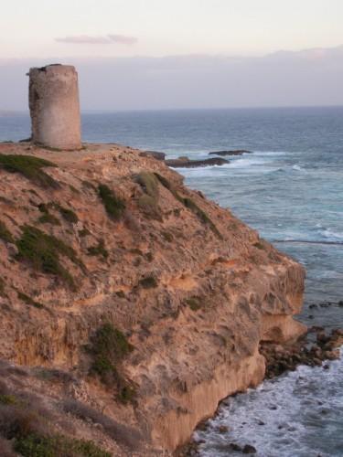 San Vero Milis - Capo Mannu,  la torre Saracena