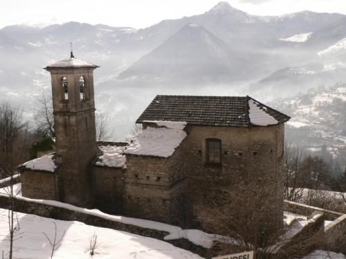San Fedele Intelvi - la valle...