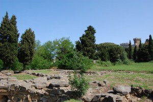 Vista del Castello di Populonia