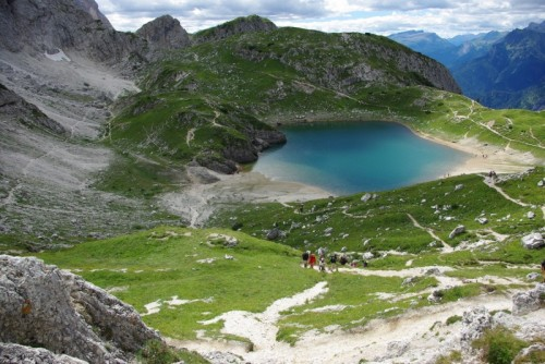 Alleghe - Passeggiata - Lago Coldai