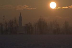 san Bartolomeo al tramonto