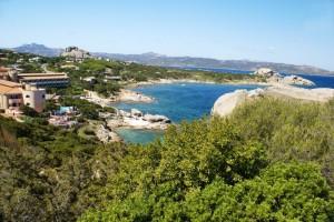 un panoraa di Baia Sardinia