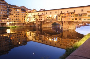 Pontevecchio by night