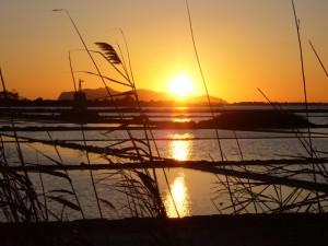 …incanto al calar del sole…