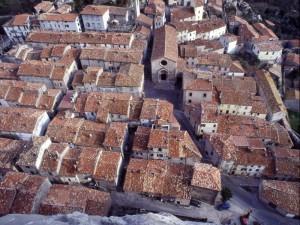 Dalla rocca…i tetti