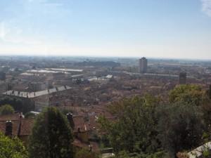 Panorama di Pinerolo