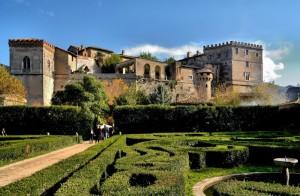 Il castello Massimo ad Arsoli