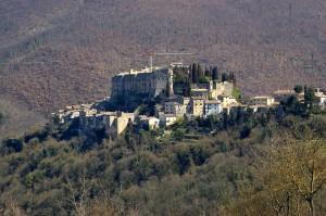 Panorama di Rocca Sinibalda